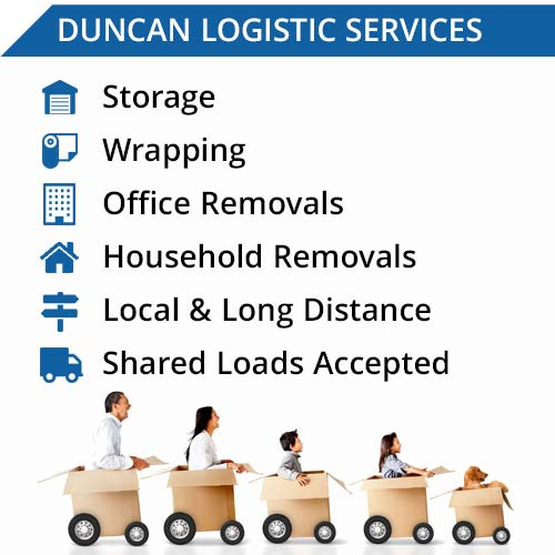 Duncan Logistic Removal Moving Services